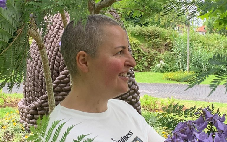 Entrevista com Marília Gonçalves, sobrevivente de cancro do ovário